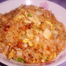 辣白菜炒饭