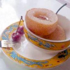秋冬季节可以用来止咳的----糖心梨