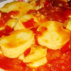 番茄烧日本豆腐的做法