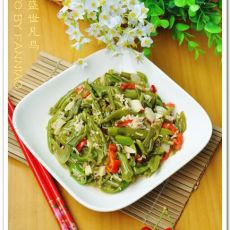 南昌人爱吃的空心菜梗的做法