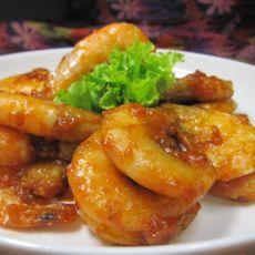 茄汁大虾---吃了还想吃