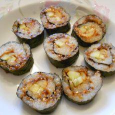 韩式青瓜肉松紫菜包饭的做法