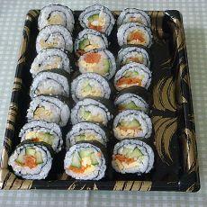 泡菜寿司的做法
