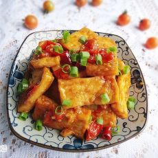 野番茄烧豆腐的做法
