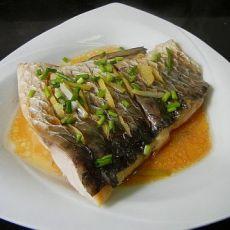 清蒸封草鱼的做法