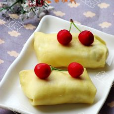 芒果班戟--港式甜品