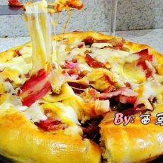 芝心披萨的做法