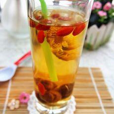 龙眼菊花茶