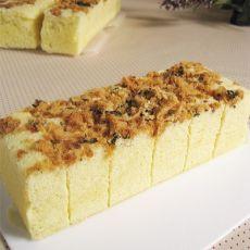 海苔肉松蒸蛋糕的做法