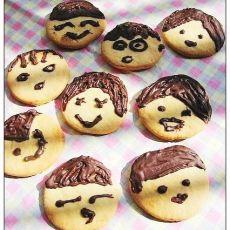 亲子DIY:娃娃脸饼干-首发
