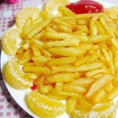 自制KFC炸薯条