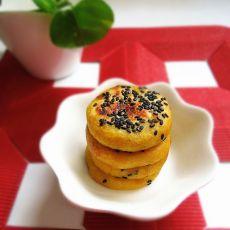 芝麻红糖薯饼