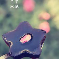 玫瑰红酒果冻