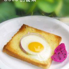 烤吐司太阳蛋