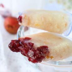 蔓越莓荔枝冰棒