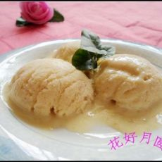 自制香蕉冰淇淋―没有奶油的冰淇淋