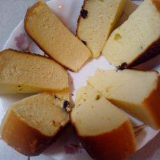 牛奶蜂蜜海绵蛋糕的做法