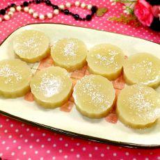 椰香杏仁糕的做法