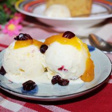 芒果蔓越莓冰淇淋的做法