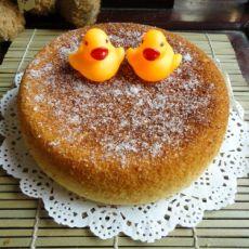 蜂蜜海绵可可蛋糕