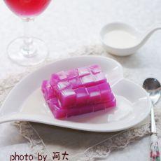紫苋凉粉块