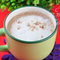 发泡咖啡奶