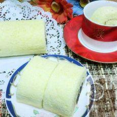 蜂蜜豆沙蛋糕卷