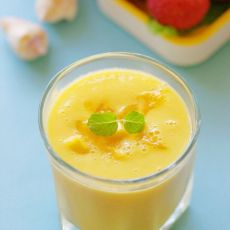 减脂不减味的芒果奶昔