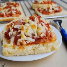 简易披萨的做法