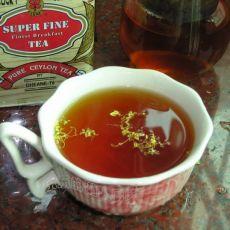 桂花红茶(原创首发)