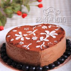 酸奶巧克力慕斯蛋糕