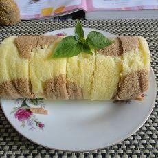 奶牛蓝莓蛋糕卷