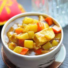 咖喱老豆腐的做法