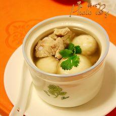 蘑菇肉排汤
