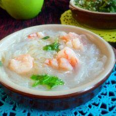 鲜虾粉丝萝卜汤
