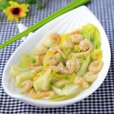 白菜虾仁的做法