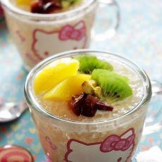 鲜果杯子西米露