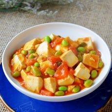 番茄炖豆腐的做法