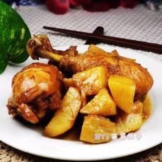 琵芭腿焖土豆的做法