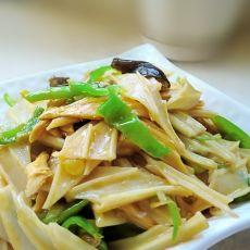 家常菜   魔芋炒腐竹