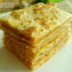椒盐葱油饼