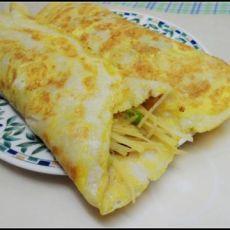 鸡蛋土豆丝卷饼