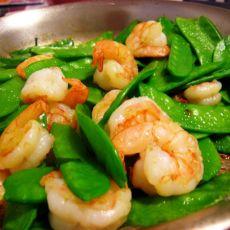 简单美味庆新春----荷兰豆炒虾仁