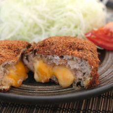 日式奶酪肉饼