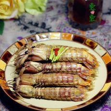 黑啤煮皮皮虾