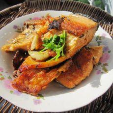 香煎咸松鱼
