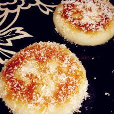 椰蓉山药红糖饼