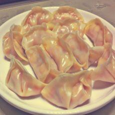 胡萝卜玉米猪肉饺