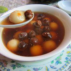 桂圆红糖蒸汤圆的做法
