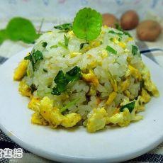 马蹄草鸡蛋饭
